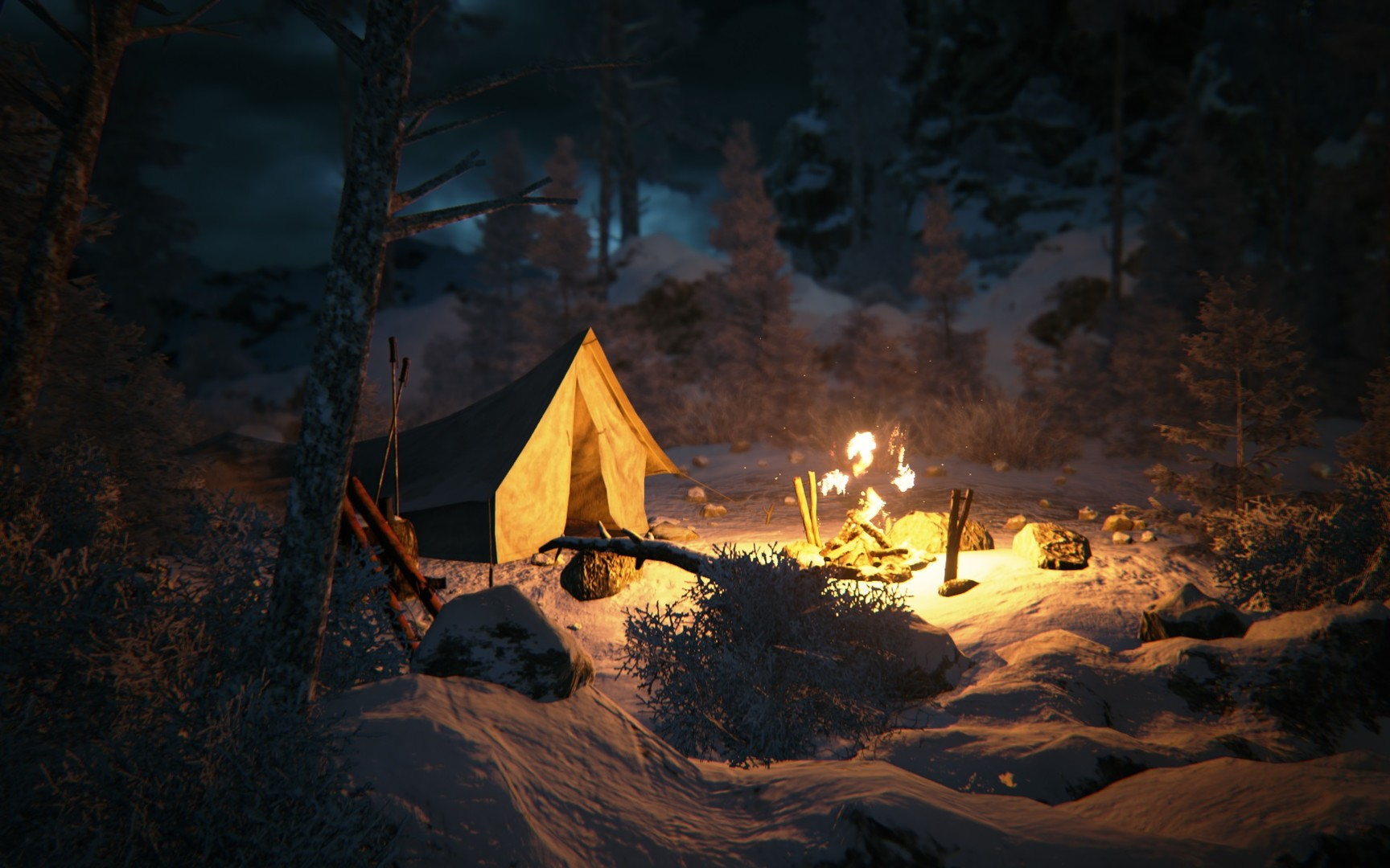 Kholat game screenshot