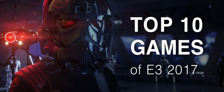 Top 10 Biggest Games of E3 2017 on Blog