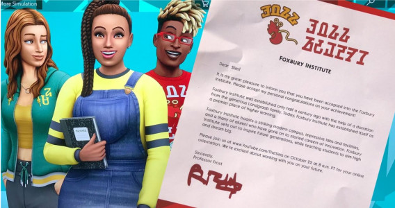 The Sims 4 Going to University with a new DLC on Blog