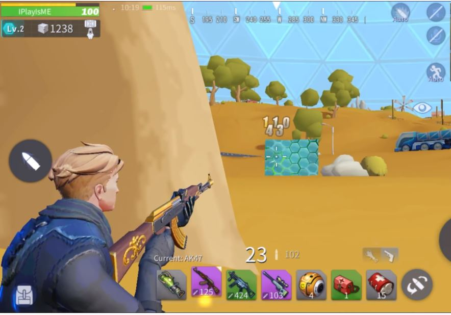 creative destruction gameplay