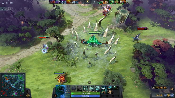 DOTA 2 game screenshot