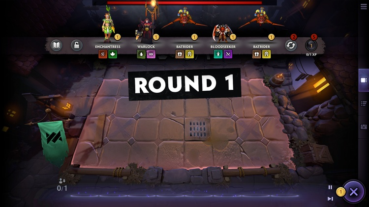 Dota Underlords game screenshot