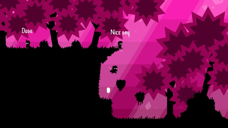 Electronic Super Joy game screenshot