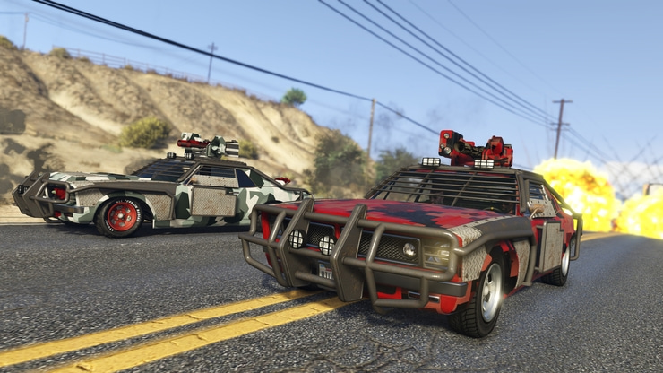 Grand Theft Auto V game screenshot