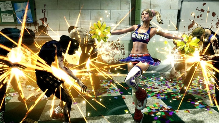 Lollipop Chainsaw game screenshot