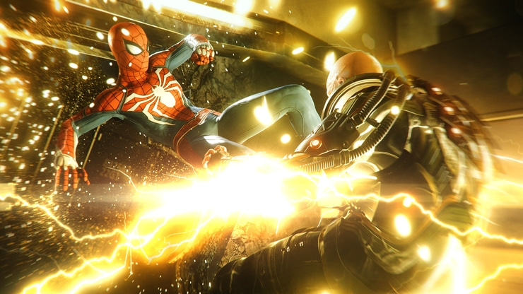 Marvel's Spider-Man game screenshot