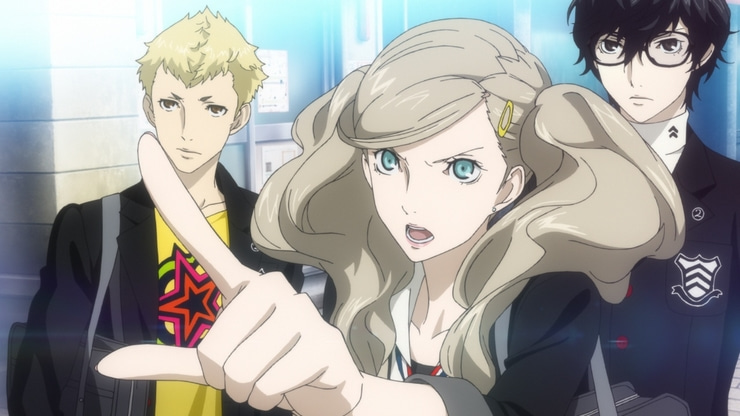 Persona 5 game screenshot