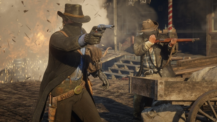 Red Dead Redemption 2 game screenshot