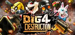 Dig 4 Destruction Game