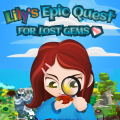 Lily's Epic Quest for Lost Gems Game