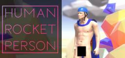 ? Human Rocket Person Game