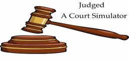 Judged: A Court Simulator Game