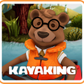 Teddy the Wanderer: Kayaking Game