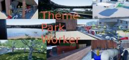 Theme Park Worker Game