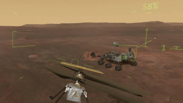 944108b0fe08 Mars Flight VR Screenshot 1 for Windows PC - Games Mojo