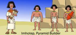 Imhotep, Pyramid Builder Game