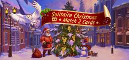 Solitaire Christmas. Match 2 Cards Game