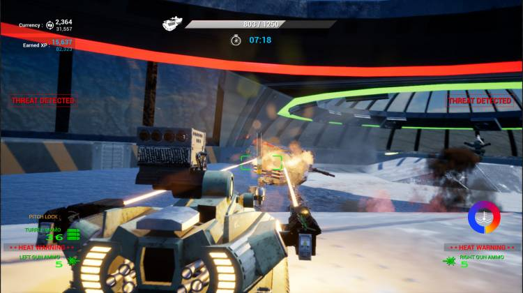 Hover Tank Arena Screenshot 1 for Windows PC - Games Mojo
