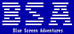 Blue Screen Adventures Game