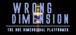Wrong Dimension - The One Dimensional Platformer Game
