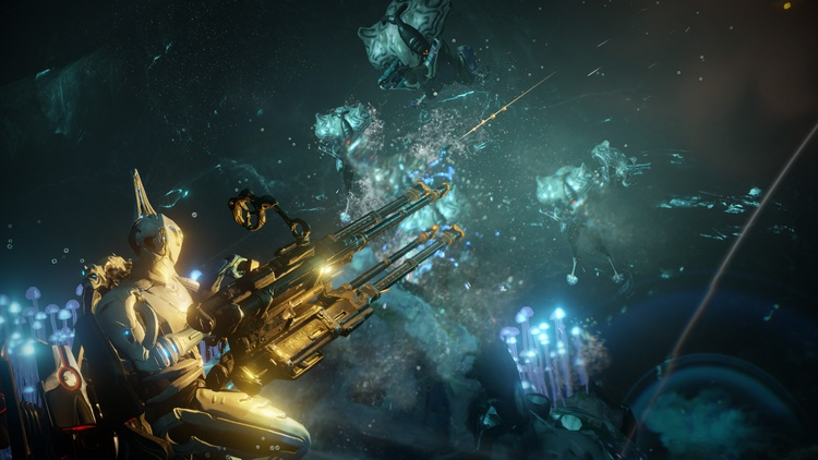 Warframe game screenshot